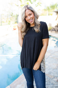 Live Free Laced Tunic