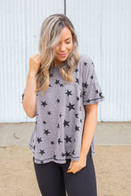 Load image into Gallery viewer, Starry Night Short Sleeve Top