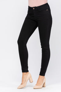 Basic Black Judy Blue Skinnies