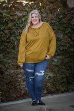 Load image into Gallery viewer, Hacci Jewel Pullover in Butterscotch