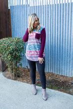 Load image into Gallery viewer, Part the Seas Waffle Knit Top