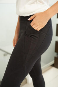 Sidekick Black Leggings