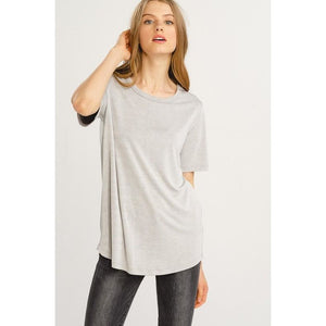 Bamboo Crew Neck T-Shirt