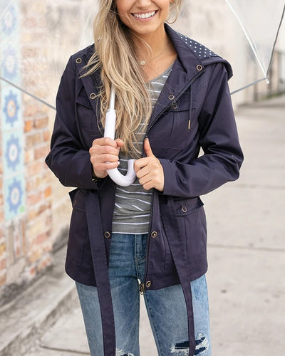 Grace & Lace Rain Jacket