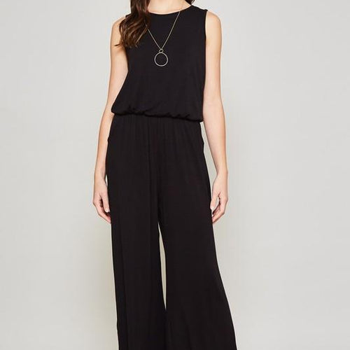 The Stevie, Sleeveless Jumpsuit