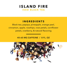 Load image into Gallery viewer, Pinky Up - Island Fire Loose Leaf Iced Tea by Pinky Up