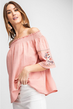 Load image into Gallery viewer, Free Spirit Off Shoulder Top