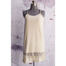 Load image into Gallery viewer, Cream Lace Dress Extender
