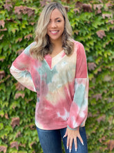 Load image into Gallery viewer, Fall Foliage Waffle Knit Top