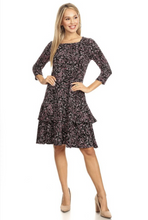 Load image into Gallery viewer, Girl About Town Midi Dress