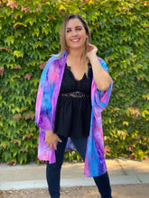 Load image into Gallery viewer, Vivacity For Life Tie Dye Cardigan