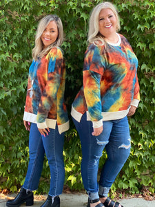 Jaw Dropping Sunset Tie Dye Weekender