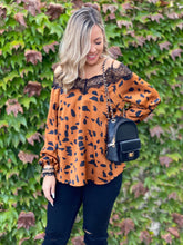Load image into Gallery viewer, October Nights Off The Shoulder Top