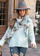 Load image into Gallery viewer, Frost Creek Pointelle Sweater