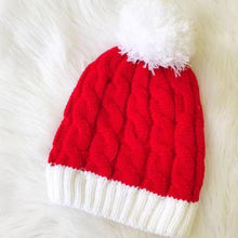 Load image into Gallery viewer, Santa Hat Beanie
