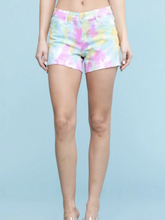 Load image into Gallery viewer, Rainbow Sherbert Judy Blue Shorts