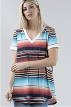 Load image into Gallery viewer, Cabo Serape High-Low Top