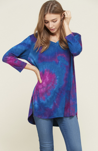 Moon Stone 3/4 Sleeve Top