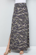 Load image into Gallery viewer, Camo Love Side Slit Maxi