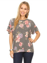 Load image into Gallery viewer, Something About You Ruffle Sleeve Top