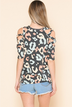 Load image into Gallery viewer, Happy Strappy Cold Shoulder Top