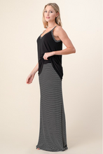 Load image into Gallery viewer, Striped to Perfection Maxi Lounge Set