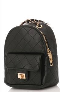 Going My Way Mini Backpack - Black
