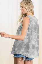 Load image into Gallery viewer, Smokey Skies Sleeveless Top