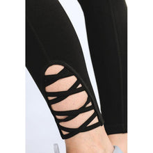 Load image into Gallery viewer, Lattice Strap Full Leggings