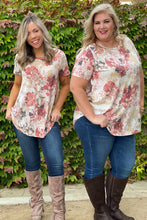 Load image into Gallery viewer, Sweet Symphony of Roses Hi Lo Tunic