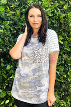 Load image into Gallery viewer, Vintage Wash Camo Tunic