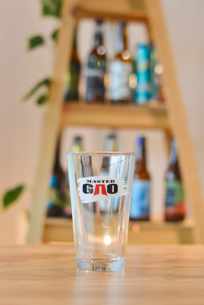 Master Gao Pint Glass