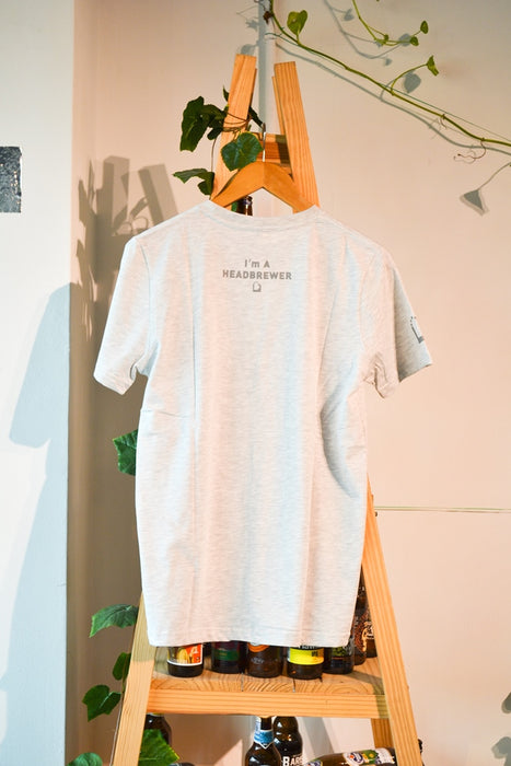 Taiwan Head Brewers White Grey T-Shirt