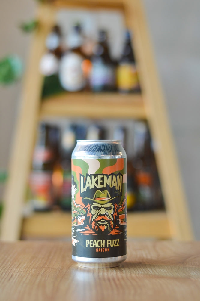 Lakeman Peach Fuzz Saison (440ml)