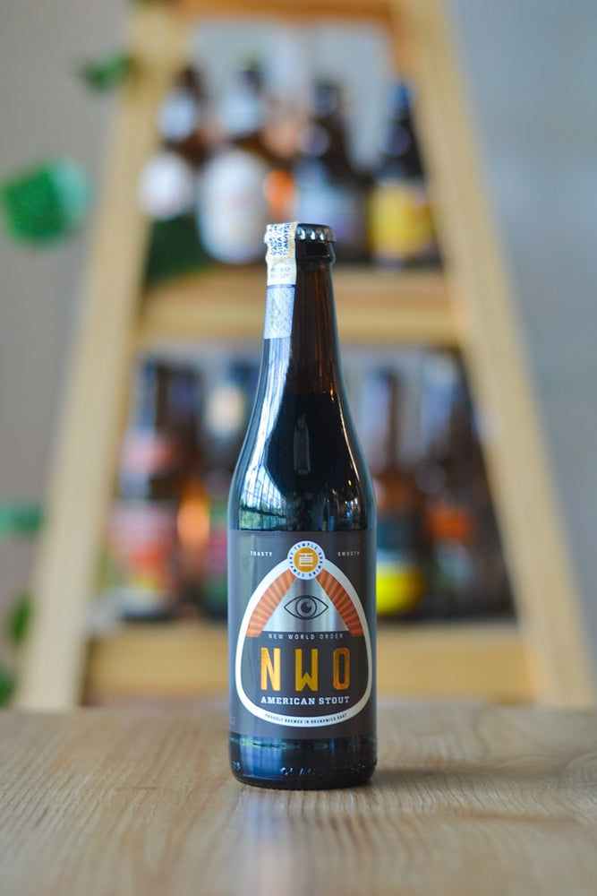 Temple New World Order Stout (330ml)