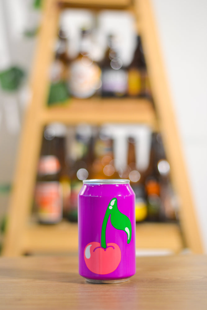 Omnipollo Apollo Cherry Pulp Fruit Sour Beer (330ml)