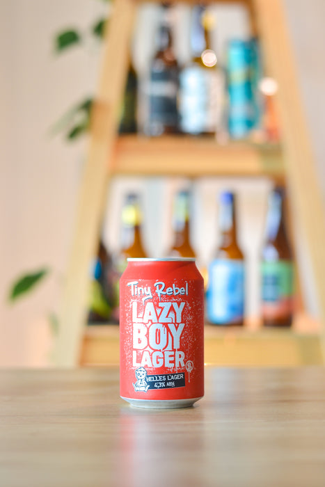 Tiny Rebel Lazy Boy Lager (330ml)