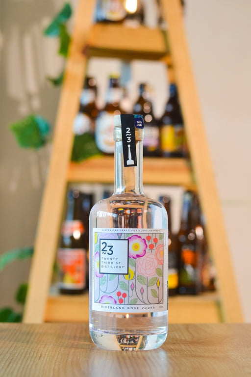 23rd Street Distillery Riverland Rose Vodka