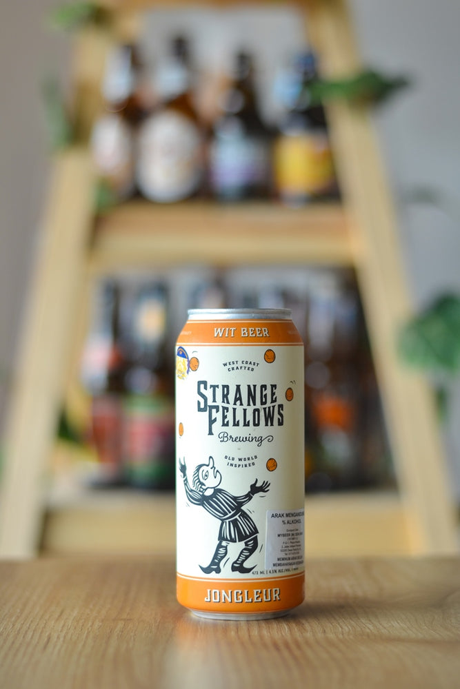 Strange Fellows Jongleur Belgian Wit (473ml)