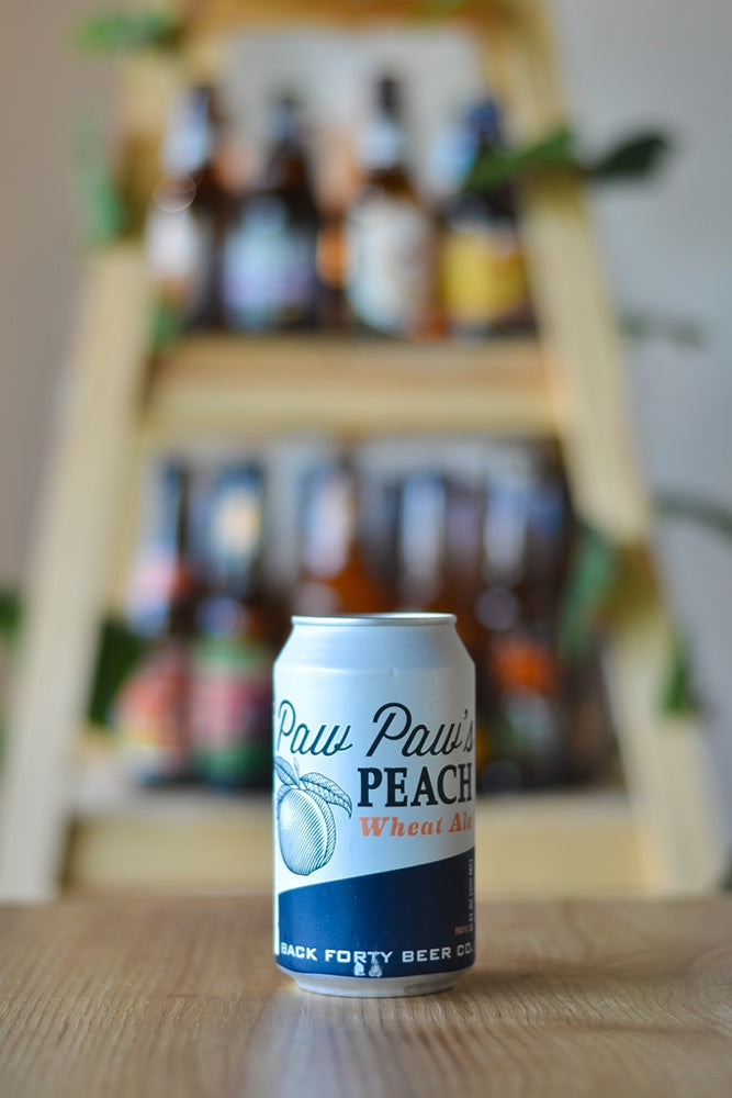 Back Forty Paw Paw's Peach Wheat (330ml)