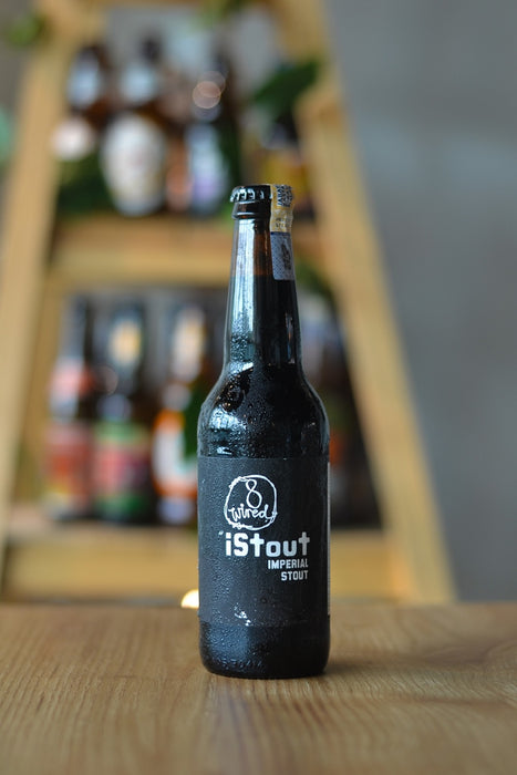 8 Wired iStout (330ml)
