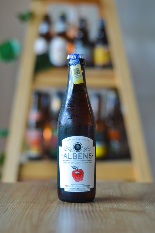Albens Apple & Strawberry Cider (330ml)