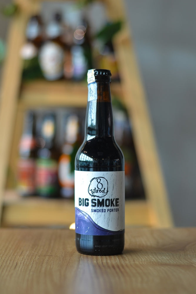 8 Wired The Big Smoke Porter (330ml)