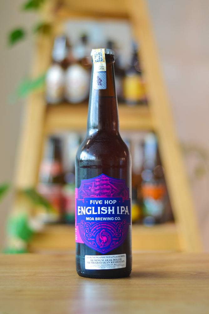 Moa Five Hop English IPA (500ml)
