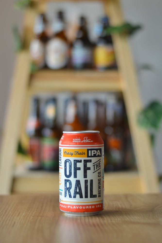 Off the Rail Crazy Train IPA