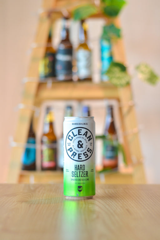 Clean & Press: Smashed Cactus and Lime (330ml)