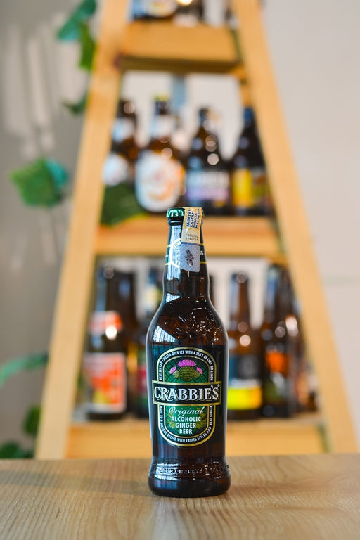 Crabbie's Original Alcoholic Ginger Beer (330ml)