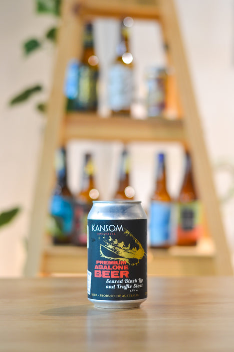 Kansom Seared Black Lip And Truffle Stout (CAN) (330ml)