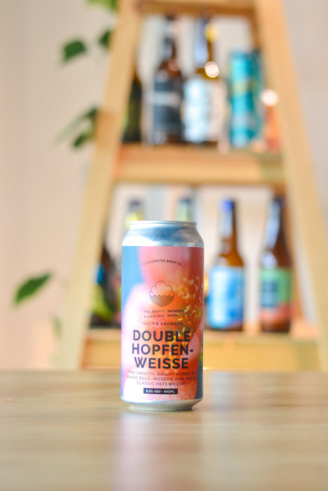 Cloudwater The Beauty Between Power & Dreams Double Hopfenweisse (440ml)