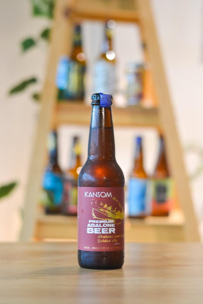 Kansom Abalone And Enoki Golden Ale (BTL) (330ml)